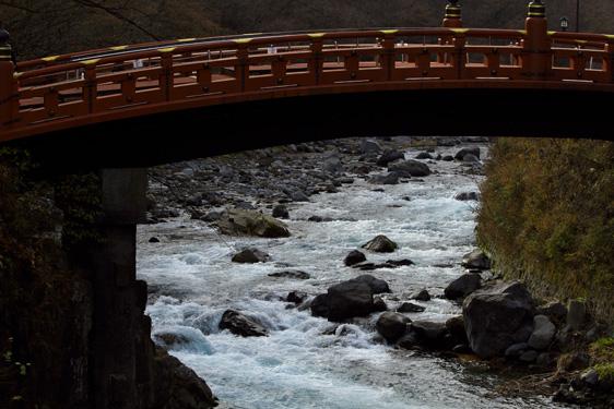 神橋と大谷川
