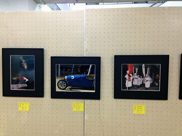 長生郡写真クラブ合同作品展で私の写真が展示中デス!