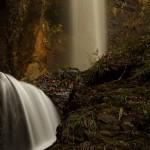 竜化の滝。塩原十名瀑が一つ。