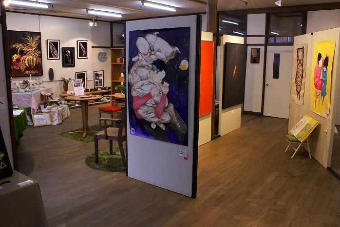 長南町のアーティスト展