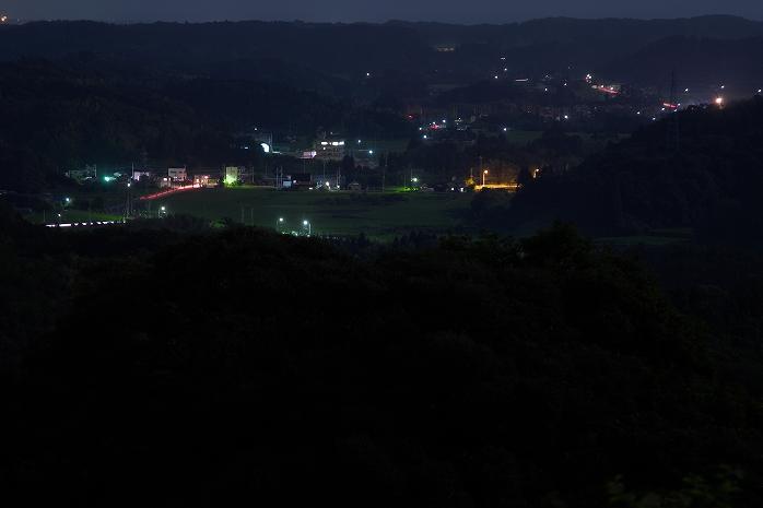 野見金公園からの長南町の100万ペソの夜景wwww