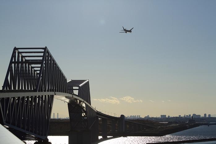 正月の締めは東京ゲートブリッジ詣でにて。