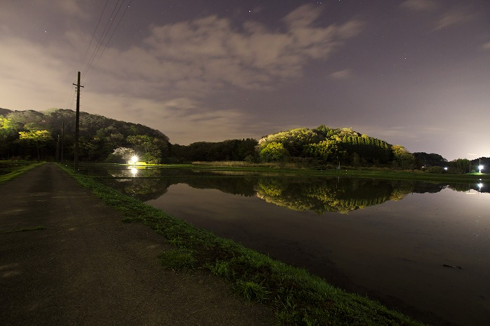 これが長南町の夜景www