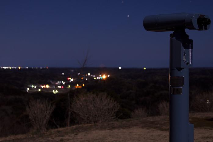 長南町の高ボッチにボッチで登ってゆるキャンごっこできれいだね