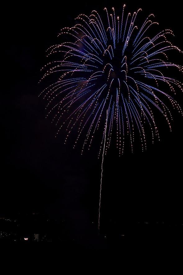 長南町の花火大会