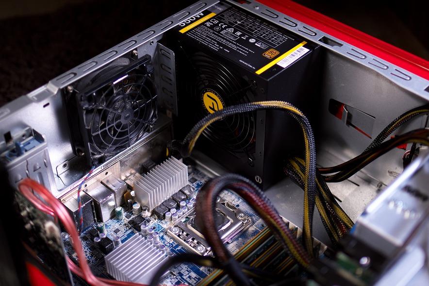 今度はパソコンが逝ったぁぁぁーーー!!これが家電壊れるスパイラルか!?