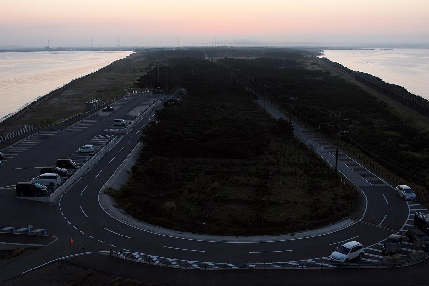 富津岬 夜明け