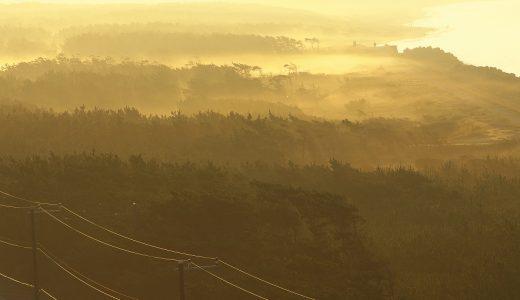 富津岬の夜明けが見たい