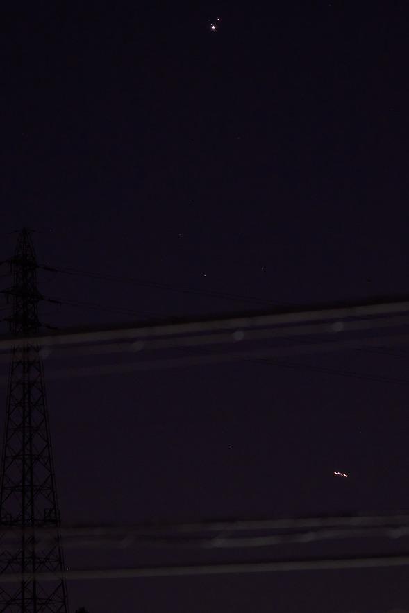 土星と木星の接近