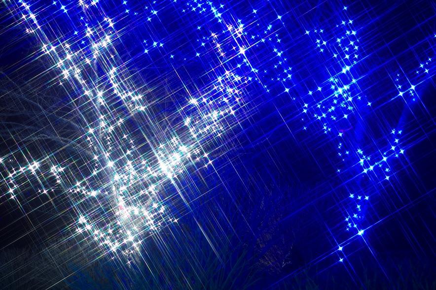 野見金公園ライトアップ