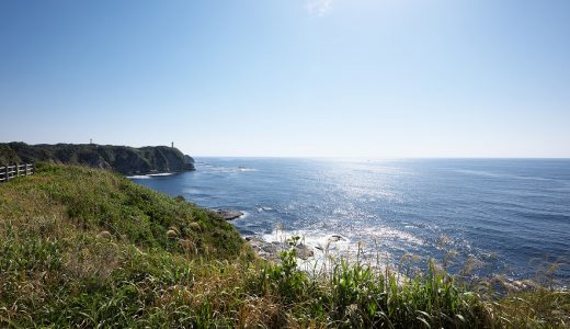 凪の八幡岬公園から