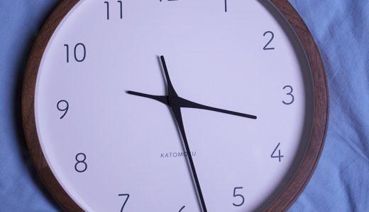 KATOMOKUこと加藤木工さんの掛け時計