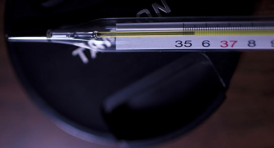 水銀体温計